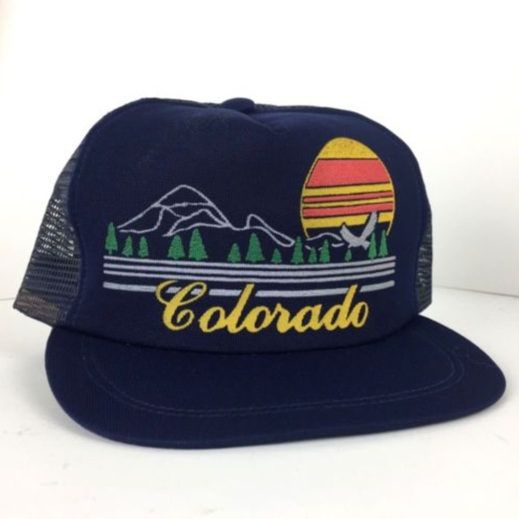 detailed look bb363 f0c0b ... italy vintage colorado state trucker hat snapback 27adb 12976